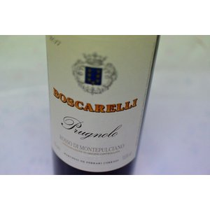 赤ワイン ボスカレッリ / ロッソ・ディ・モンテプルチアーノ [2017]|wineholic