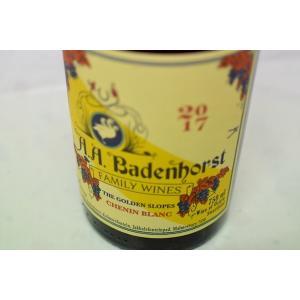 白ワイン A.A.バーデンホースト / ゴールデン・スロープ・シュナン・ブラン [2017]|wineholic
