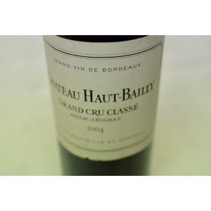 赤ワイン シャトー・オー・バイィ [2004]|wineholic