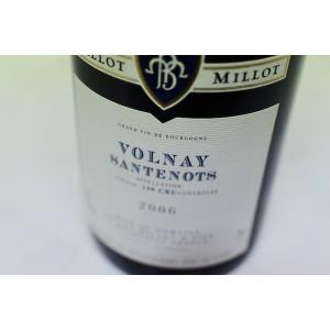 赤ワイン ドメーヌ・バロ・ミロ / ヴォルネー・サントノ [2006]|wineholic
