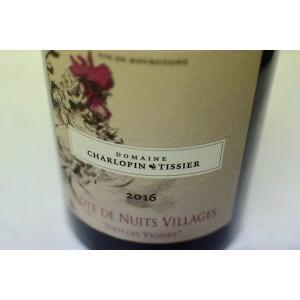 赤ワイン シャルロパン・ティシエ / コート・ド・ニュイ・ヴィラージュ・ヴィエイユ・ヴィーニュ [2016] wineholic