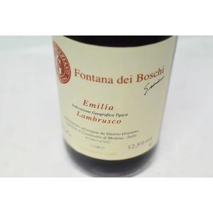 シャンパン(泡物) ヴィットーリオ グラツィアーノ / ランブルスコ・フォンタナ・デイ・ボスキ [2017]|wineholic