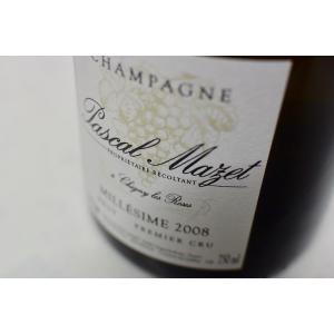 シャンパン(泡物) パスカル・マゼ / ブリュット・ミレジメ・プルミエ・クリュ [2008]|wineholic