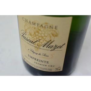 シャンパン(泡物) パスカル・マゼ / ブリュット・アンプラント・プルミエ・クリュ|wineholic