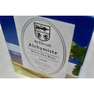 白ワイン ドメーヌ・スクラヴォス / ヴァン・ブラン・ド・ターブル・アリシミスト バッグ・イン・ボックス 3000ml [2018]|wineholic