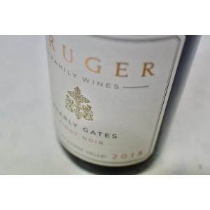 赤ワイン クルーガー・ファミリー・ワインズ / パーリー・ゲーツ・ピノ・ノワール [2018]|wineholic