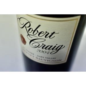 赤ワイン ロベール・クレイグ / カベルネ・ソーヴィニョン・マウント・ヴィーダー・ナパ・ヴァレー [2004]|wineholic