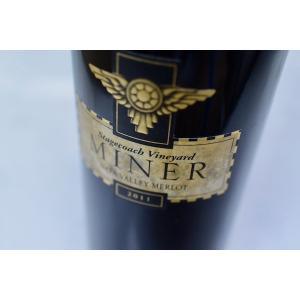 赤ワイン マイナー・ファミリー・ワイナリー / ステージコーチ・ヴィンヤード・ナパ・ヴァレー・メルロー [2011]|wineholic