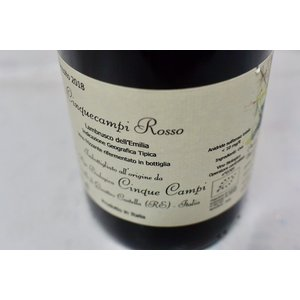 シャンパン(泡物) チンクエ・カンピ / ランブルスコ デッレミリア チンクエ・カンピ ロッソ [2018] wineholic