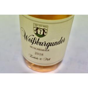 白ワイン エンデルレ・ウント・モル / ヴァイスブルグンダー・ムシェルカルク [2018] wineholic