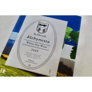 白ワイン ドメーヌ・スクラヴォス / ヴァン・ブラン・ド・ターブル  アリシミスト バッグ・イン・ボックス 3000ml [2019]|wineholic