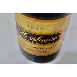 赤ワイン ミ・スエーニョ・ワイナリー / ルシアン・リヴァー・ヴァレー・ピノ・ノワール [2007]|wineholic