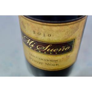 赤ワイン ミ・スエーニョ・ワイナリー / ロス・カーネロス・ピノ・ノワール [2010]|wineholic