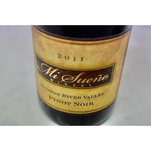 赤ワイン ミ・スエーニョ・ワイナリー / ルシアン・リヴァー・ヴァレー・ピノ・ノワール [2011]|wineholic