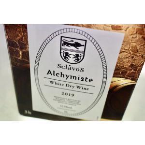 白ワイン ドメーヌ・スクラヴォス / ヴァン・ブラン・ド・ターブル  アリシミスト 3000ml [2019]|wineholic