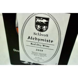 赤ワイン ドメーヌ・スクラヴォス / ヴァン・ルージュ・ド・ターブル アリシミスト 3000ml [2019] (マヴロダフネ)|wineholic