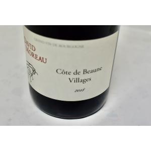 赤ワイン ドメーヌ・ド・ラ・ビュイシエール(ダヴィッド・モロー)/ コート・ド・ボーヌ・ヴィラージュ [2018]|wineholic