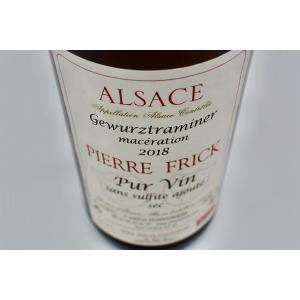 白ワイン ピエール・フリック / ゲヴュルツトラミネール マセラシオン サン・シュルフィト・アジュテ [2018]|wineholic