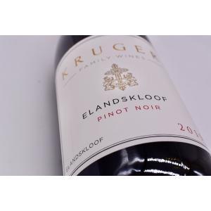 赤ワイン クルーガー・ファミリー・ワインズ / エランズクルーフ・ピノ・ノワール [2019]|wineholic