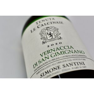 白ワイン テヌータ・レ・カルチナイエ / ヴェルナッチャ・ディ・サン・ジミニャーノ [2020] wineholic