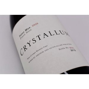 赤ワイン クリスタルム / ピーター・マックス・ピノ・ノワール [2020] wineholic