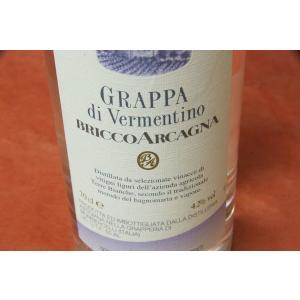 グラッパ ブリッコ・アルカーニャ・グラッパ・ディ・ヴィルメンティーノ|wineholic