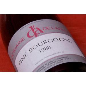 ブランデー フィーヌ ドメーヌ・ド・ラルロー フィーヌ・ブルゴーニュ 1988|wineholic
