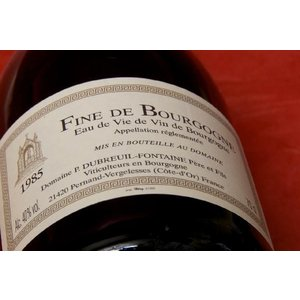 ブランデー フィーヌ デュブルイユ・フォンテーヌ フィーヌ・ド・ブルゴーニュ 1985|wineholic