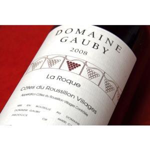 赤ワイン ドメーヌ・ゴビー / コート・デュ・ルーション・ヴィラージュ ラ・ロック 2008|wineholic