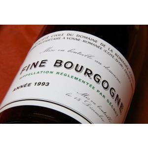 ブランデー フィーヌ ドメーヌ・ド・ラ・ロマネ・コンティ / フィーヌ・ド・ブルゴーニュ [1993]|wineholic