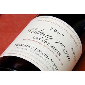 赤ワイン ドメーヌ・ジョセフ・ヴォワイヨ / ヴォルネイ・プルミエ・クリュ・レ・フルミエ [2007]|wineholic