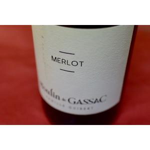 赤ワイン ムーラン・ド・ガサック / テラス・ド・ギレム・メルロー [2014]|wineholic