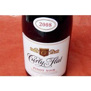 赤ワイン オーストラリア最高峰のピノ・ノワール! カーリー・フラット / マセドン・レーンジズ・ ピノ・ノワール [2008] wineholic