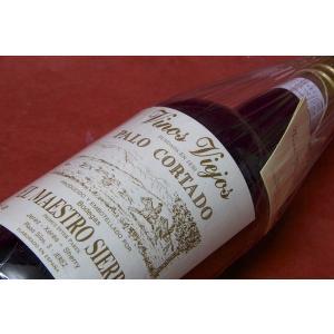 白ワイン シェリー ボデガ・マエストロ・シエラ / パロ・コルタド|wineholic