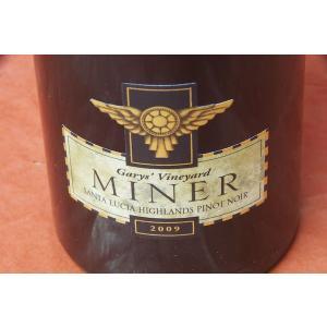 赤ワイン マイナー・ファミリー・ワイナリー / ギャリーズ・ヴィンヤード・サンタ・ルシア・ハイランズ・ピノ・ノワール [2009]|wineholic