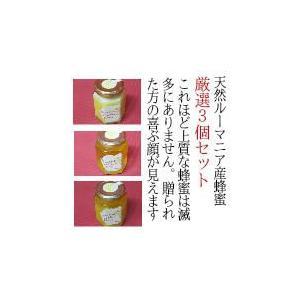 蜂蜜 はちみつ ハチミツ 天然ルーマニア産蜂蜜(はちみつ)3個セット|wineholic