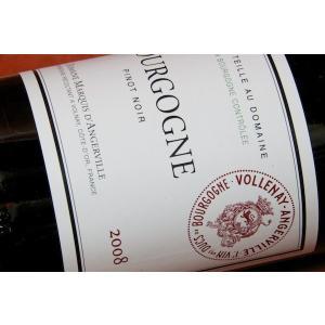赤ワイン ドメーヌ・マルキ・ダンジェルヴィーユ /ブルゴーニュ・ピノ・ノワール [2011] 予約販売(お届けは2014/01/15以降)|wineholic