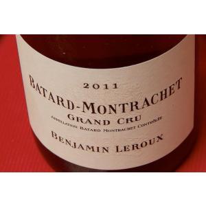 白ワイン バンジャマン・ルルー / バタール・モンラッシェ・グラン・クリュ [2011]|wineholic