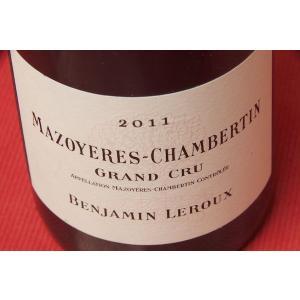 赤ワイン バンジャマン・ルルー / マゾワイエール・シャンベルタン・グラン・クリュ [2011]|wineholic