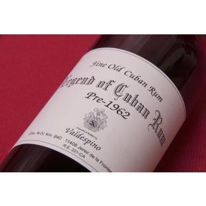 ラム レジェンド・オブ・キューバン・ラム 700ml  45%  [1940~1950]|wineholic