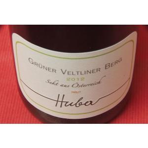 シャンパン スパークリングワイン マルクス・フーバー / グリューナー・フェルトリーナ・ベルグ・ブリュット [2012]|wineholic