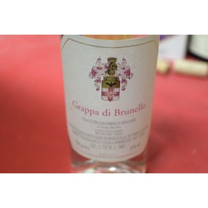 グラッパ チアッチ・ピッコロミニ・ダラゴーナ / グラッパ・ディ・ブルネロ|wineholic