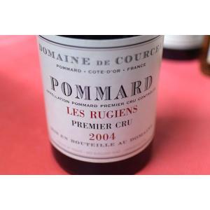 赤ワイン ドメーヌ・ド・クールセル / ポマール・プルミエ・クリュ・レ・リュジアン [2004]|wineholic