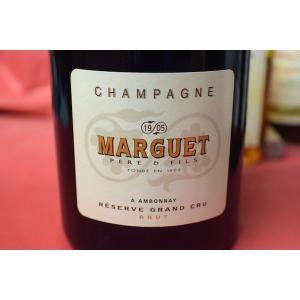 シャンパン スパークリングワイン マルゲ・ペール・エ・フィス / ブリュット・レゼルヴ・グラン・クリュ・マグナム 1500ml|wineholic