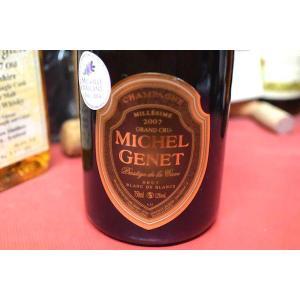 シャンパン スパークリングワイン ミッシェル・ジュネ / ブリュット・プレスティージュ・ブラン・ド・ブラン・グラン・クリュ 2007|wineholic