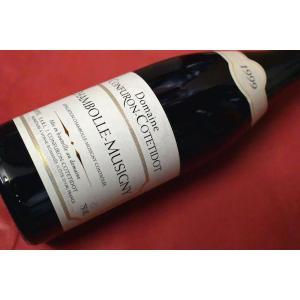 赤ワイン ドメーヌ・コンフィロン・コトティド / シャンボール・ミュジニー [1999]|wineholic