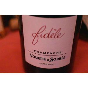 シャンパン スパークリングワイン ヴェット・エ・ソルベ / キュヴェ・フェデル・エキストラ・ブリュット・ノン・ドゼ [2011]|wineholic