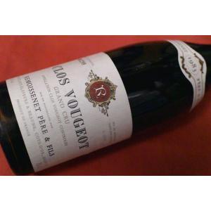 赤ワイン ルモワスネ・ペール・エ・フィス / クロ・ヴジョ・グラン・クリュ [1983]|wineholic