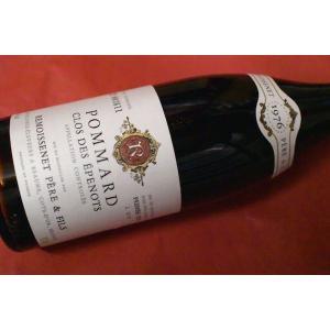 赤ワイン ルモワスネ・ペール・エ・フィス / ポマール・プルミエ・クリュ・クロ・デ・ゼプノー [1976]|wineholic