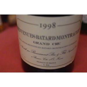 白ワイン ルモワスネ・ペール・エ・フィス / ビヴァンニュ・バタール・モンラッシェ・グラン・クリュ [1998]|wineholic